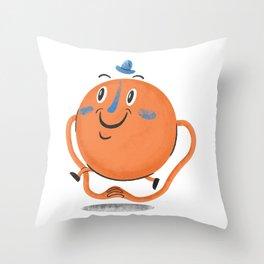 Mr Tickle Throw Pillow
