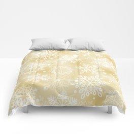 Snowflakes pattern Comforters
