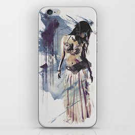 Bellydancer Abstract iPhone Skin