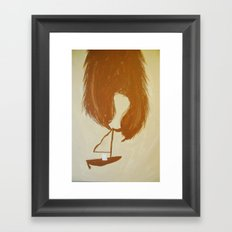 Where are they? Framed Art Print