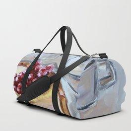 Desert, sweet, food, breakfast, coffee, lunch, dish, cake Duffle Bag
