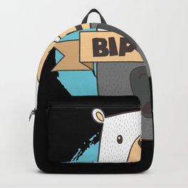 BiPolar Bear I Cute Mental Disorder design Backpack