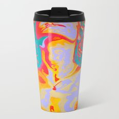 The Art of Orgasm  Metal Travel Mug