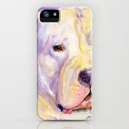 Dogo Argentino iPhone Case