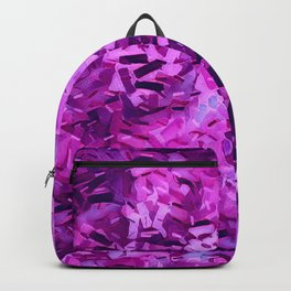 Pantone Violet Confetti Backpack
