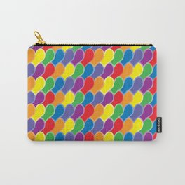 Pride Heart Scale Pattern Carry-All Pouch