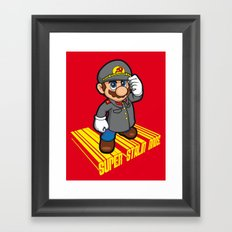 SUPER STALIN BROS. Framed Art Print