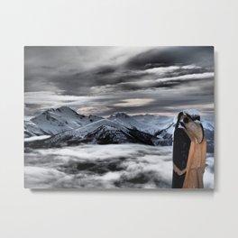 Symphony - Whistler, BC Metal Print