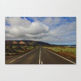 Route - Lanzarote Canvas Print