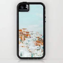 Travelers || #photography #greece iPhone Case