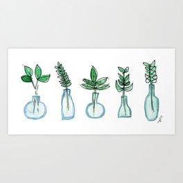 Easy Green Art Print