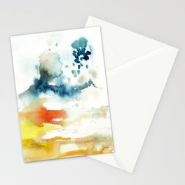 Ominous Silence Stationery Cards