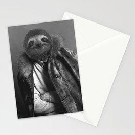 Model Sloth Stationery Cards