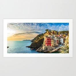 Riomaggiore - 5 Terre - Liguria - Italy Art Print