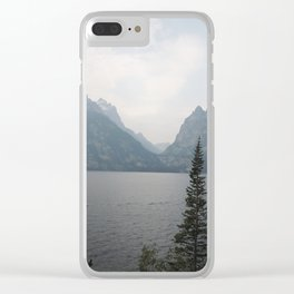 The view that changes lives Clear iPhone Case