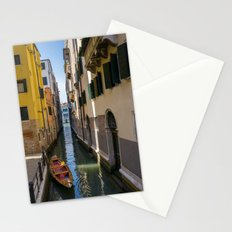 Boat in Venice Stationery Cards