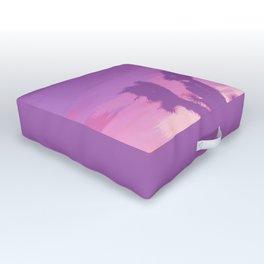 Lavender Joshua Sunset - Pop_Art Outdoor Floor Cushion