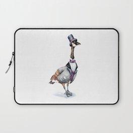 Victorian Gentleman Goose Laptop Sleeve