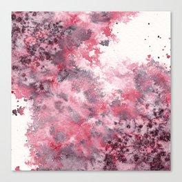 Watercolor Burst I Canvas Print