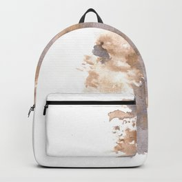 Soft Texture Watercolor | [Grief] Breaking Backpack