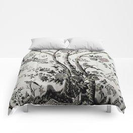 Peacock Tree Natural Comforters