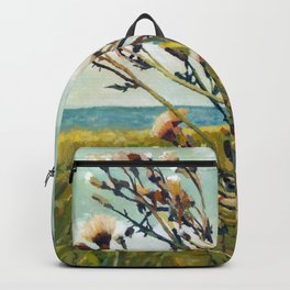 Thistles on the Beach Backpack