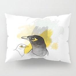 Myna, Birds of Thailand Pillow Sham