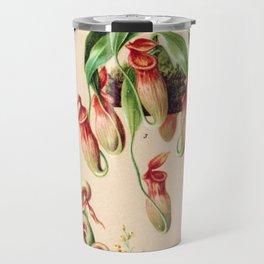 Carnivorous plants from 1898 Travel Mug