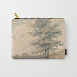 """J.M.W. Turner """"Landscape with Trees and Figures"""" Carry-All Pouch"""