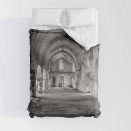 A derelict churh in Northern Cyprus Comforters