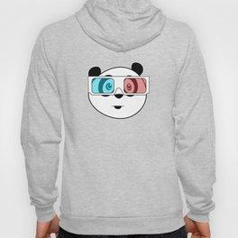Panda - 3D Glasses Hoody