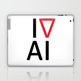 I love artificial intelligence Laptop & iPad Skin