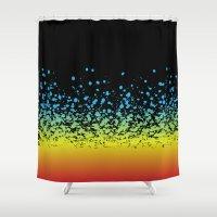 splatter Shower Curtains featuring Splatter!! by natedosmil
