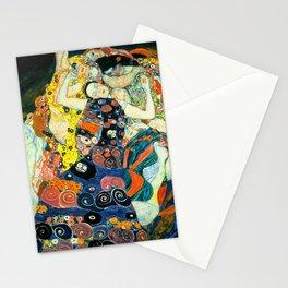 Gustav Klimt - The Maiden Stationery Cards