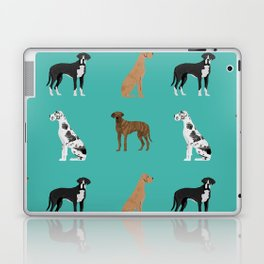 Great Danes mixed coats dog breed must have pure breed lovers Laptop & iPad Skin
