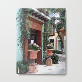 On The Avenue Metal Print