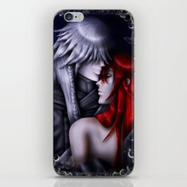 Love As Strong As Death iPhone Skin