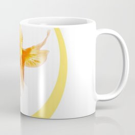 3 GOLDFISH SWIMMING PATTERN MODERN ART Coffee Mug