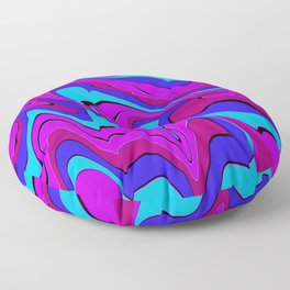 dreamland color flow 4 Floor Pillow