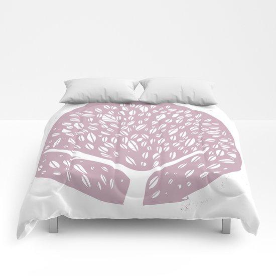 Tree of life - lilac Comforters