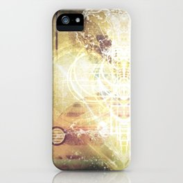 Beautiful Life Force iPhone Case