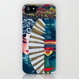 The Dance of cultures iPhone Case