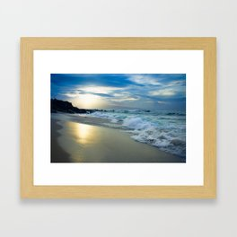 One Dream Sunset Hookipa Beach Maui Hawaii Framed Art Print