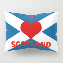 Scotland Flag Saltire Pillow Sham