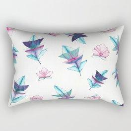 lotus & leaf! Rectangular Pillow