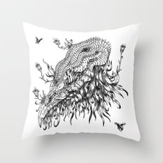 Cycle 3 Throw Pillow