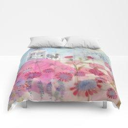 Pink Hills Comforters