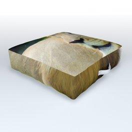 Lion Outdoor Floor Cushion