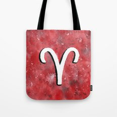 Zodiac sign : Aries Tote Bag