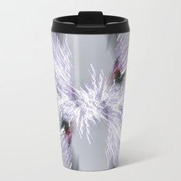 Snow Sparkle Burst Travel Mug